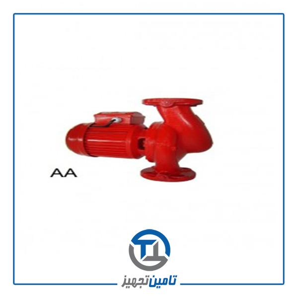 پمپ سیرکولاتور خطی سمنان انرژی (3/4) 2 اینچ مدل AA